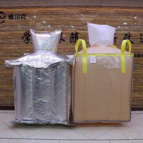 bulk bag with aluminum liner