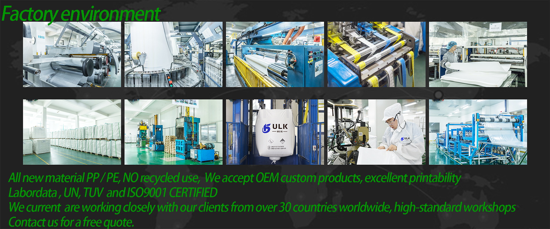 FIBC BAG Manufacturer direct supply