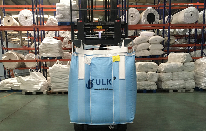 The usage of bulk bags